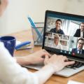 Social work team video conferencing