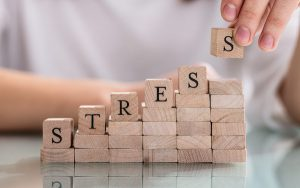 Image of wooden blocks spelling out 'stress' (credit: Andrey Popov / Adobe Stock)