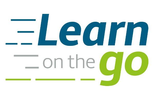 learn on the go podcast logo