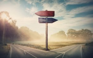 Image of crossroads (credit: 1STunningART / Adobe Stock)