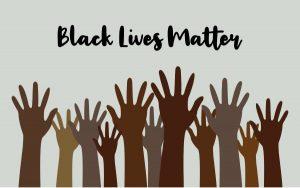 Black, Lives Matter poster