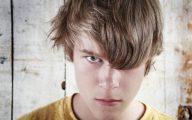 An angry teenage boy