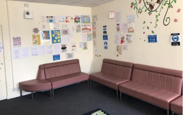 Kent intake unit room for unaccompanied children