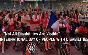 nternational Day of People with Disabilities banner