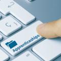 Apprenticeships key on keyboard
