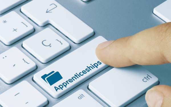 Apprenticeships key on keyboard