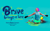 Hertfordshire Council care careers image