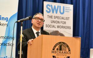 John McGowan, general secretary, Social Workers Union
