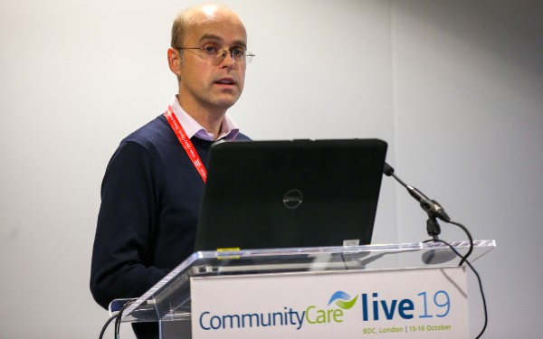 Alex Ruck Keene speaking at Community Care Live 2019