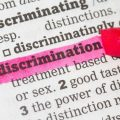 'Discrimination' in dictionary