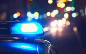 Metropolitan Police flashing blue lights image