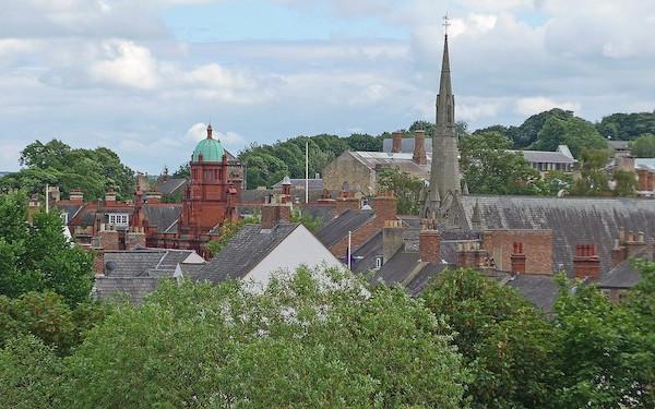 Image of Durham skyline (credit: Tim Green / Wikimedia Commons)