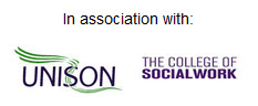 Unison and College logos