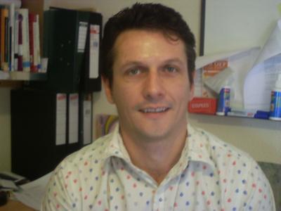 PhD researcher Mark Kerr